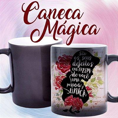 Caneca Mágica - Princesas - Bela