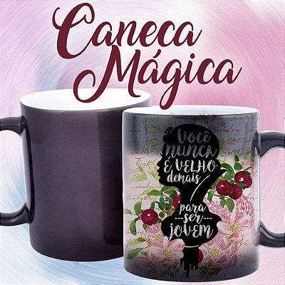 Caneca Mágica - Princesas - Branca de Neve