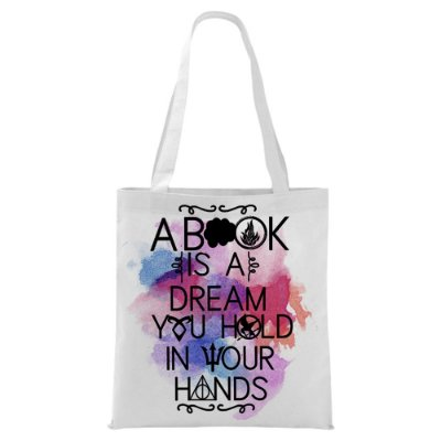 Ecobag - Bookstagram - A book is a dream