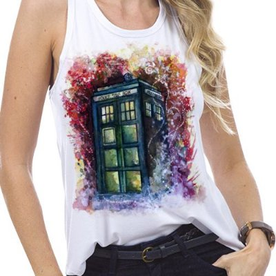 Regata - Tardis - Doctor Who
