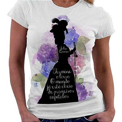 Camiseta Feminina - Julia Quinn - Termine o livro