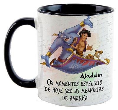 Caneca - Aladdin - Os momentos especiais de hoje