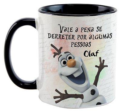 Caneca - Olaf - Vale a pena se derreter