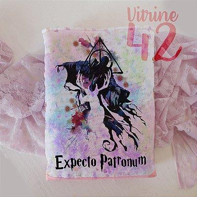 Capa Tipo Luva para Livro - Harry Potter - Expecto Patronum