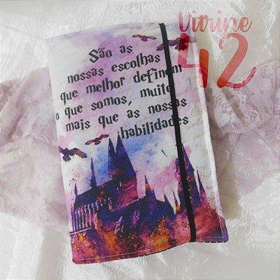 Capa ajustável para Livro - Harry Potter - Nossas Escolhas