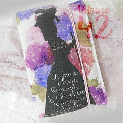 Capa ajustável para Livro - Julia Quinn - Termine o Livro