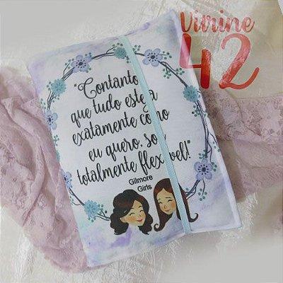 Capa ajustável para Livro - Gilmore Girls - Blue