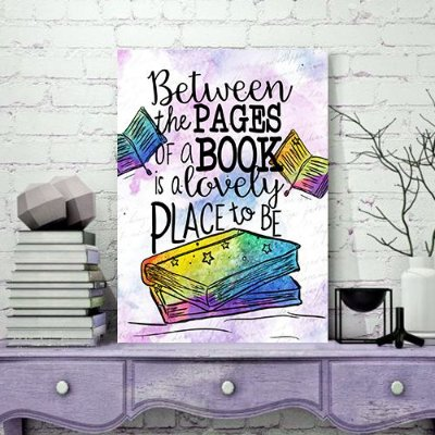 Quadro MDF - Bookstagram - Between the Pages