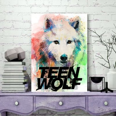 Quadro MDF - Teen Wolf
