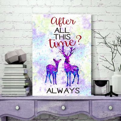Quadro MDF - Harry Potter - After All This Time?