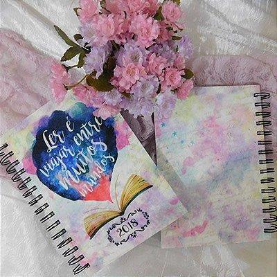 Agenda 2018 - Bookstagram - Ler é Viajar