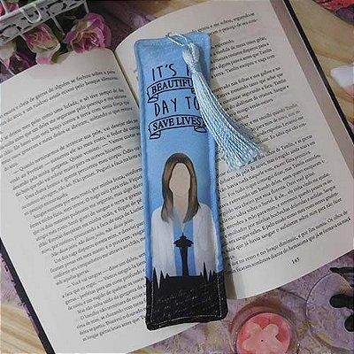 Marcador de Página - Grey's Anatomy - Blue