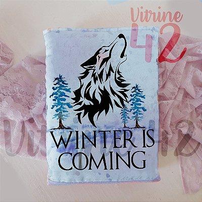 Capa Tipo Luva para Livro - Game of Thrones - Wolf