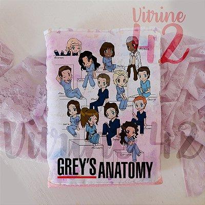 Capa Tipo Luva para Livro - Grey's Anatomy - Personagens