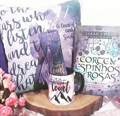 Kit com livro - Corte de Espinhos e Rosas