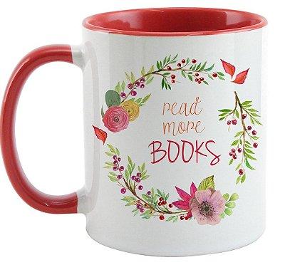 Caneca Bookstagram  - Read More Books