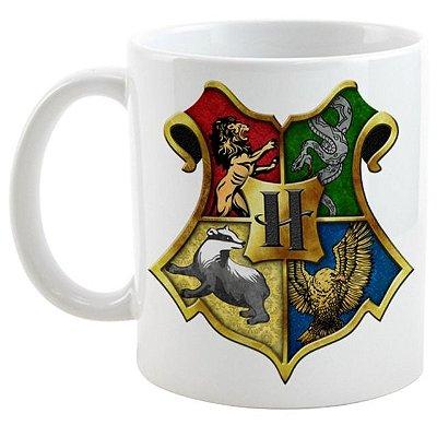 Caneca - Saga Harry Potter - Casas