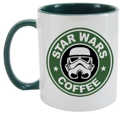 Caneca - Star Wars coffee