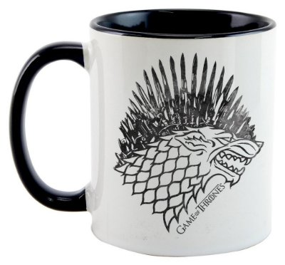 Caneca Game of Thrones - Trono Stark