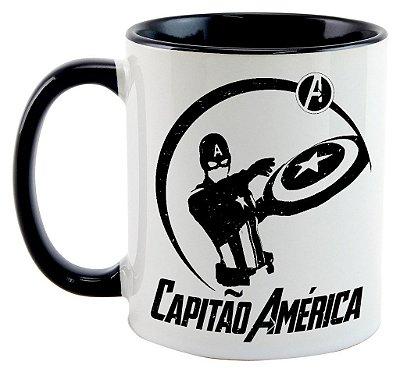 Caneca - Capitão América