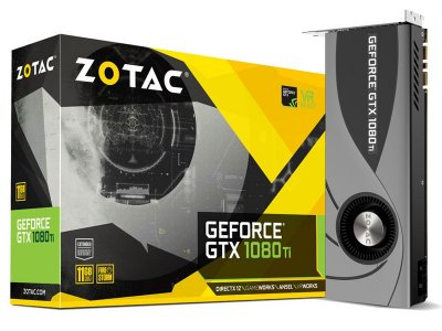 Geforce Zotac Nvidia Gtx 1080Ti Blower 11Gb Ddr5 352Bit 11.010Mhz