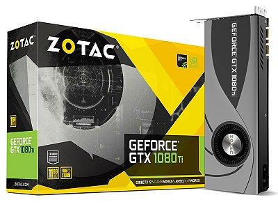 Geforce Zotac Nvidia Gtx 1080Ti Blower 11Gb Ddr5 352Bit 11.010Mhz