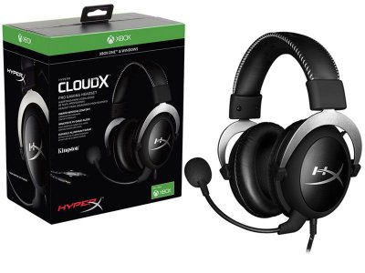 Headset Gamer Hyperx Cloud X Preto/Cinza