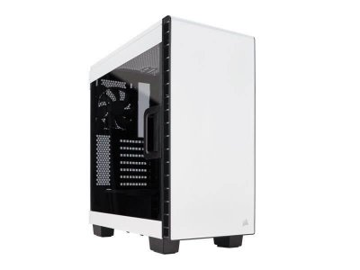 Gabinete Gamer Corsair Carbide Series CC-9011095-WW 400C C/ Acrilico Lateral Branco