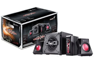Caixa De Som Gaming Genius Sw-G2.1 1250 38W Rms