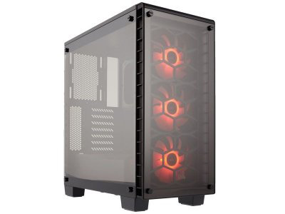 Gabinete Gamer Corsair Crystal Series 460X Rgb Atx