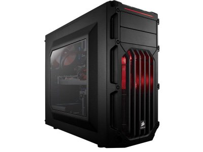 Gabinete Gamer CC-9011052-WW Corsair Carbide Series Spec-03 Shade Red Led