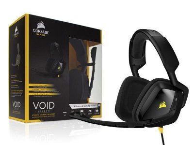 Headset Gamer Corsair Void 2.0 Stereo Preto CA-9011131-NA