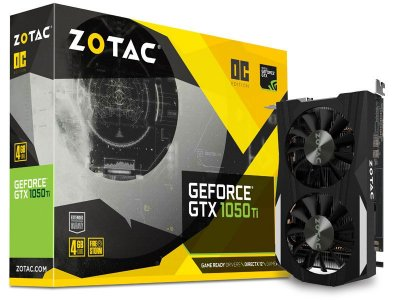 Geforce Zotac Nvidia Gtx 1050Ti Oc Edition 4Gb Ddr5 128Bit