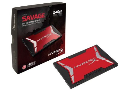 "Ssd Gamer Hyperx Savage 240Gb 2.5"" Sata III Box"