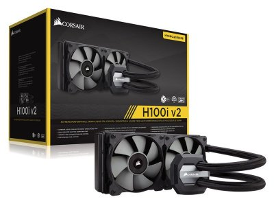 Hydro Cooling Corsair Cw-9060025-Ww H100I V2 Radiador 240Mm