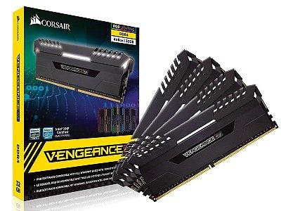 Memória Gamer Ddr4 Corsair Cmr32Gx4M4C3000C15 32Gb Kit (4X8Gb) 3000Mhz