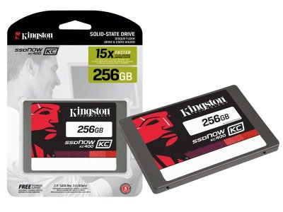 "Ssd Corporativo Kingston Skc400S37/256G Kc400 256Gb 2.5"" Sata III Blister"