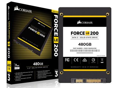 "Ssd Corsair Cssd-F480Gble200B Force Le 480Gb 2.5"" Sata Iii 6Gb/S Box"