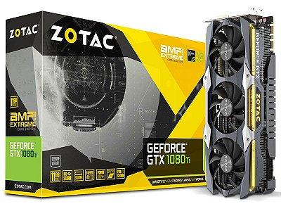 Geforce Zotac Gtx Entusiasta Nvidia Zt-P10810F-10P  Gtx1080Ti 11Gb Ddr5 352Bit