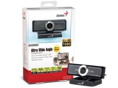 Webcam Genius 32200213101 Widecam F100 Tl Full Hd Ultra Wide