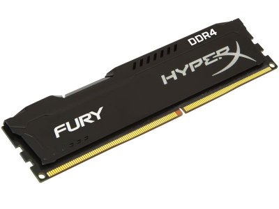 Memória Gamer Ddr4 Hyperx 4Gb 2400Mhz Non-Ecc Cl15 Dimm Black