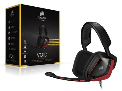 Headset Gamer Corsair Ca-9011144-Na Void Dolby 7.1 Red