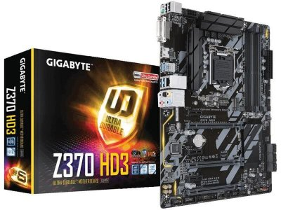 Placa mãe socket 1151 intel gigabyte z370 hd3 ddr4 4000Mhz