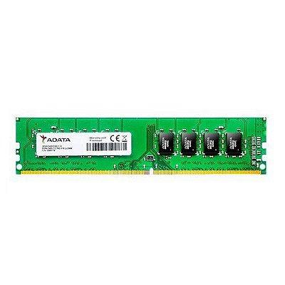 Memória Desktop 4gb Ddr4 2400mhz 1.2v Adata - Ad4u2400j4g17-s