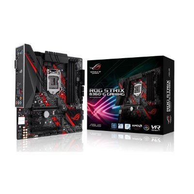 Placa mãe socket 1151 intel asus rog strix B360-g ddr4 coffee lake