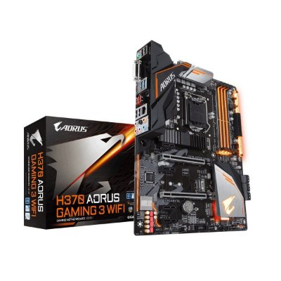 Placa mãe socket 1151 intel gigabyte h370 aorus gaming 3 Wifi ddr4 2666Mhz
