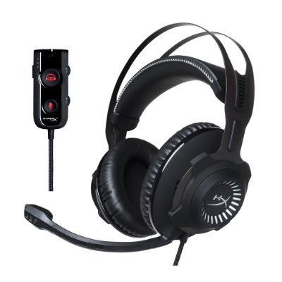 Headset Gamer Hyperx HX-HSCRS-GM/NA Cloud Revolver S Surround 7.1 Gaming