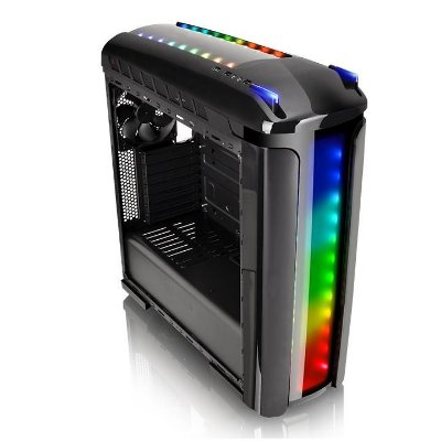Gabinete Gamer Thermaltake Versa C22 RGB Preto