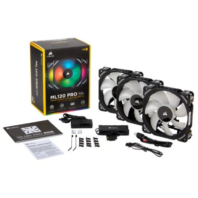Cooler Fan Corsair Gamer ML 120 Pro RGB, CO-9050076-WW
