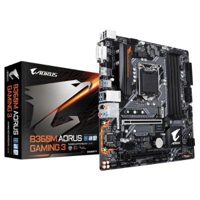 Placa mãe socket 1151 intel gigabyte B360m Aorus Gaming 3 ddr4 coffe lake